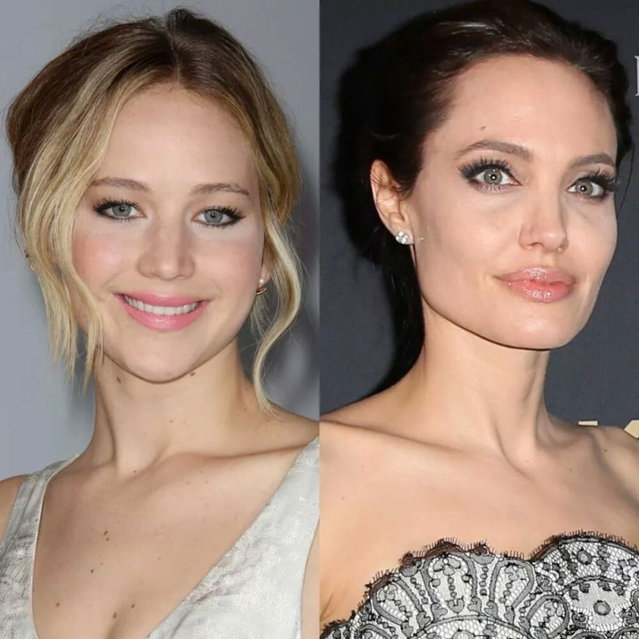 "Angelina Jolie And Jennifer Lawrence Smoky Eye Makeup : Another ""Face Booking U"" Recommended Read"