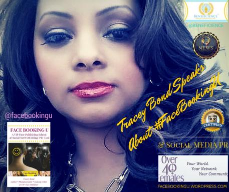 Tracey Bond Speaks About #FaceBookingU - Social Media PR - Chicago Chapter Of Females Over 40 - Algonquin