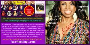Nov 11th Intro To #FACEPR Certificate Event featuring Eden Adele Our Face Speak Sharer - Register at FacePR.org