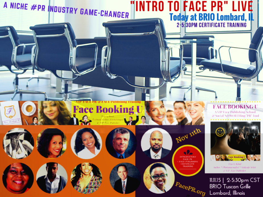 #TrainingDay #Face #PRNews INdustry history LIVE #IntroToFacePR Game Changer CertificateTraining