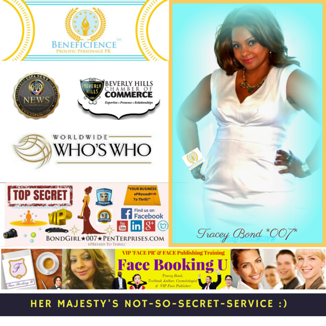 "Exciting Interview Coming Up Tomorrow with ""Face Booking U"" Author & ""FACE PR"" Industry Founder: Tracey Bond"