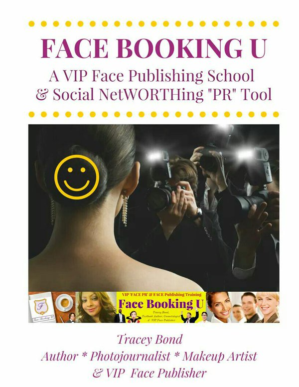 Face Booking U Coursebook | Face (PR) Public Relations Training | VIP Makeup Artistry