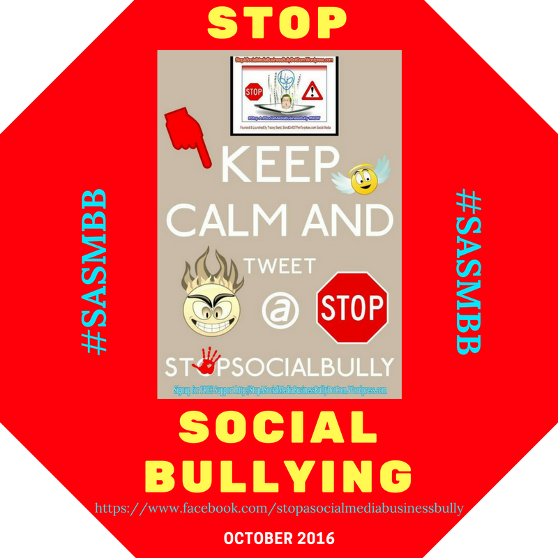 Got a bully terrorizing your business on social media? Face Booking U + FacePR.org is a zero tolerance zone sharing free help resources this October – National Bullying Prevention Month!