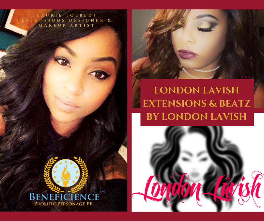 LIVE: IN THE #NEWSWIRE TODAY! For Immediate Release: Face PR Founder and Publicist at Beneficience.com welcomes Laurie Tolbert, luxury hair and MAKEUP brand owner at BEATZ by LondonLavish…